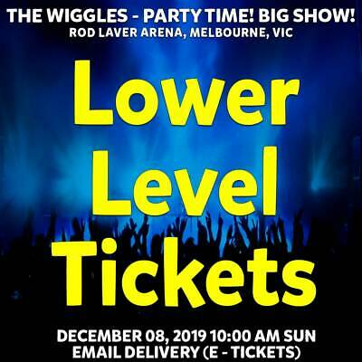 The Wiggles | Melbourne | Lower Level Reserved Tickets | Sun 08 Dec 2019 10Am