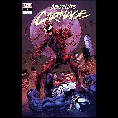 Absolute Carnage #1 Mark Bagley Trade Dress Variant Nm Presale Sonnys Comics