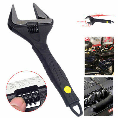 "18293 Rolson 200mm 8/"" Adjustable Wrench Spanner Ratchet Soft Grip Hand Tool"