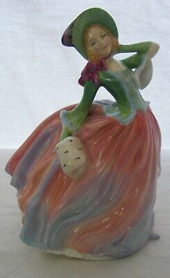 "Royal Doulton English Porcelain Figurine ""Autumn Breezes"" HN 1911"