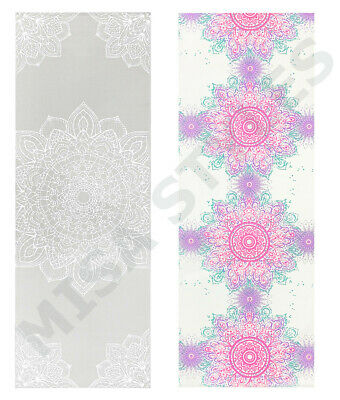 Printed Yoga Mat Non Slip Pilates Home Exercise Fitness Gym Gymnastic Workout