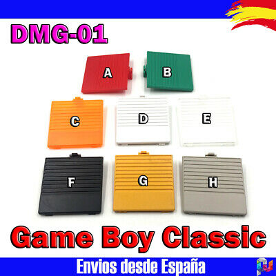 GameBoy Game Boy Classic Original DMG-01 Tapa Pilas Repuesto Varios colores