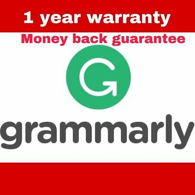 ✅ SALE ✅ Grammarly Premium Lifetime account