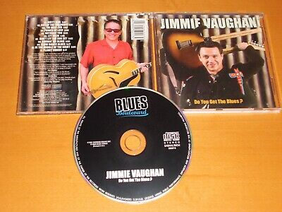 Jimmie Vaughan Do You Get The Blues? Cd Rare! Stevie Ray