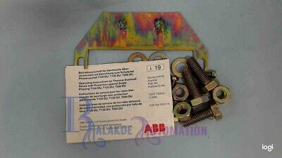 ABB thermal overload relay T100DU accessories