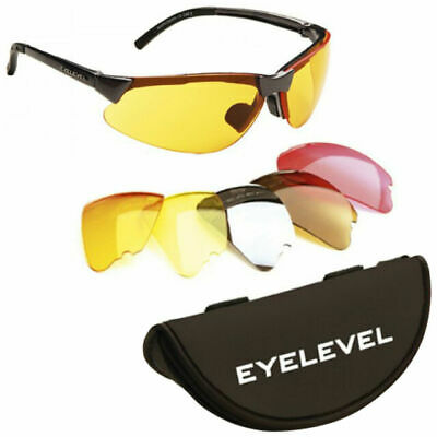 Clay /& Game Shooting Airsoft Protective Shatterproof Lens Lenses Safety Glasses