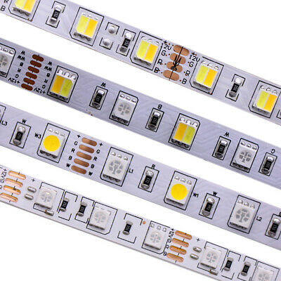 SMD 5050 RGB CCT LED Strip Waterproof DC 12V 24V CCT RGBW RGBWW string light 5m