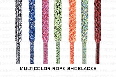 Rope Multicolor Shoelaces Pop Laces Colors Nike Asics Adidas Buy 2 Get 1 Free