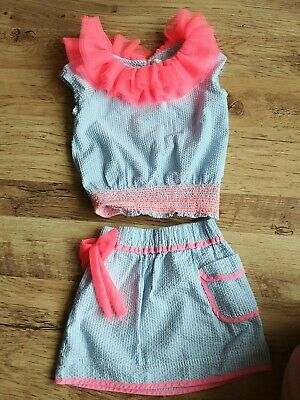 billieblush girls outfit..skirt and top