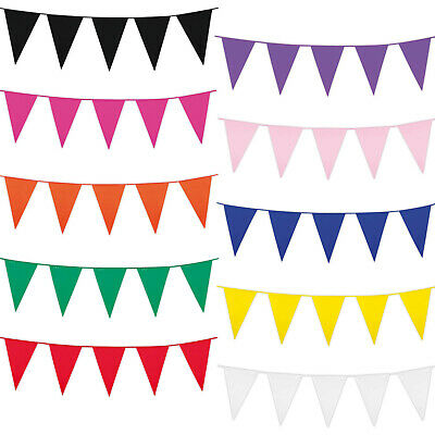 Sports Bunting Multi Colour 25 Flag Pennant 23ft Birthday Pride Party Decoration