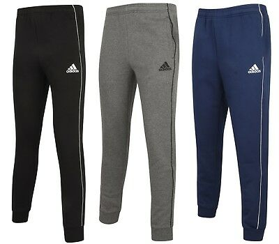 adidas Mens Core Tapered Fleece Sweat Pants Tracksuit Jogging Training Bottoms