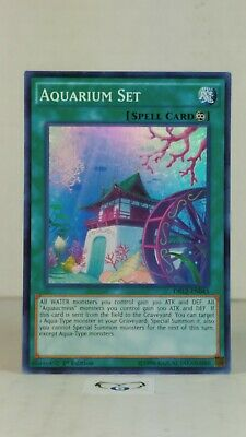 Aquarium Set DRL2-EN043 1st Ed.  Super Rare  Mint/NM  YuGiOh