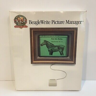 Vintage Beagle Bros BeagleWrite Picture Manager