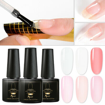 MTSSII 6ml Builder Gel Varnish Nail Polish For Nail Extension UV Poly Manicure