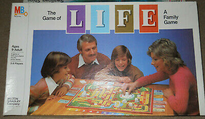Vtg The Game of Life Board Game Milton Bradley 1981 Complete & Nice