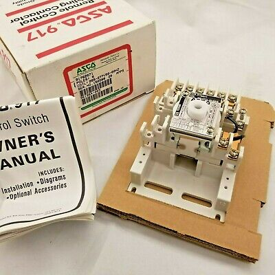 ASCO 6 POLE 20 Amp Lighting Contactor 277 Volt Coil- New ... Asco Contactor Wiring Diagram on