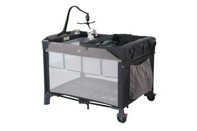 Steelcraft Snooze N Play Portacot Moonshadow
