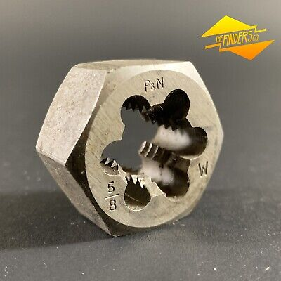 "P&N Australia 5/8"" Bsw Whitworth 1-3/16"" Hex Die Nut Pnwb1-1"