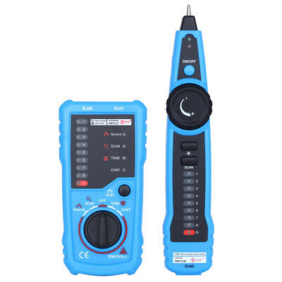 BSIDE FWT11 RJ45 RJ11 Wire Tracker Tracer Network Telephone Cable Line Tester AU