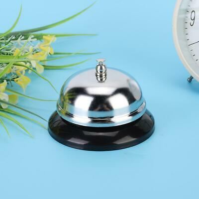 Restaurant Stainless Steel Service Bell Hotel Desk Bell Reception Call Ringer