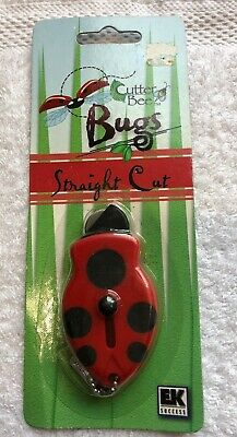 Cutter Bee Bug. Straight Cut blade. Scrapbooking paper craft knife. New unopened