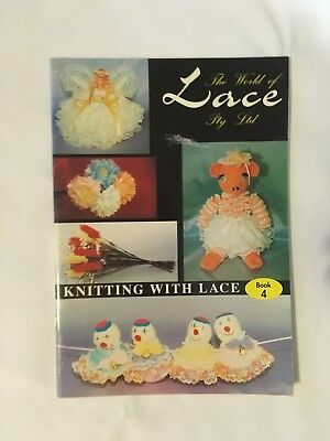 The World of Lace. Knitting with Lace Book 4. instruction book, multiple designs