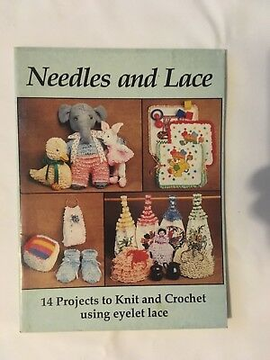 Needles and Lace, by Vicki Moodie. instruction book, multiple designs.