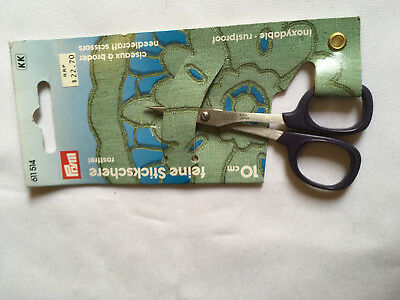 Prym needlecraft scissors, size 10cm. unused, unopened