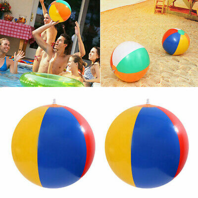 Inflatable Blowup Panel Beach Ball Holiday Party Swimming Garden Toy NEW 2019