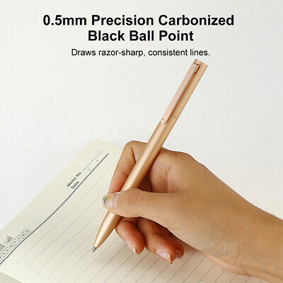 Xiaomi Mijia Metal 0.5mm Writing Point Sign Signing Pen Retractable Rotatable