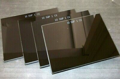 "Welding lenses. Shade 10. 1.5mm lens 4.1/4 x 3.1/4"" *Top Quality!"