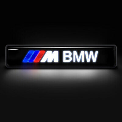 New Front Grille Badge Illuminated Medium Network Logo LED Light Car For BMW