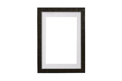 Vienna Range Picture Frame Photo Frame With Bespoke Mount White Black & Ivory