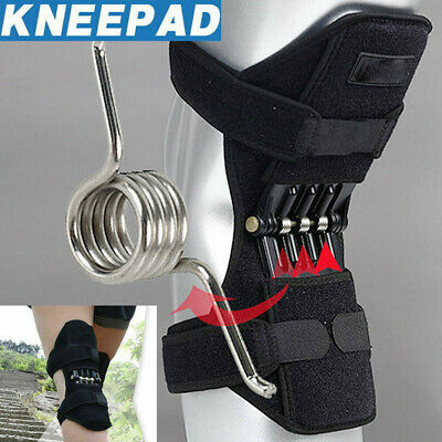 US Power Knee Stabilizer Pads Powerful Rebound Spring Force Support Knee  1PCS