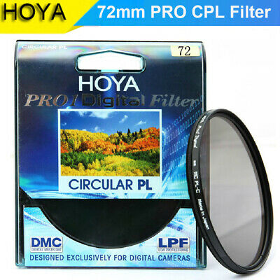 HOYA 72mm PRO1D Circular Polarising Slim Filter PL-CIR CPL
