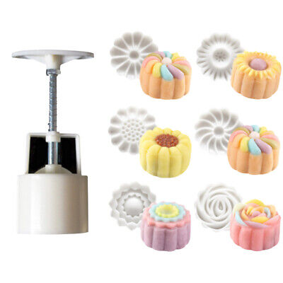 100g 50g Round Pastry Mooncake Mold Cookies Mooncake Mould For Mooncake Festival