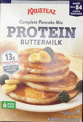 Pancake Mix PROTEIN Buttermilk 3 lbs 12 oz ( KRUSTEAZ ) Big Box