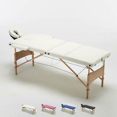 Table de massage portable pliante en bois 3 Zone 215 cm REIKI