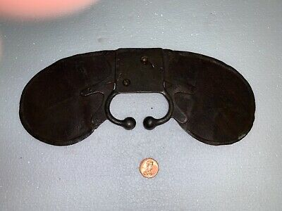 18/19 th c wrought iron horse blinders metalware aafa americana decorative arts