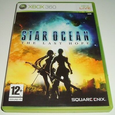 Xbox 360 ** Star Ocean ** The Last Hope ** X-Box 360 Sci-Fi Rpg Game ** Exc **