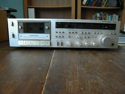 VINTAGE HARMAN KARDON CD491 Cassette Deck For Parts Or Repair Manual Box  Access