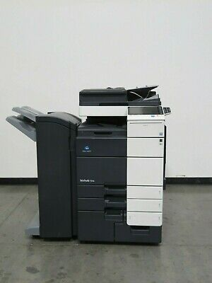 Konica Bizhub 754e Copieur Imprimante Scanner - Seulement 266K Copies - 75 Ppm