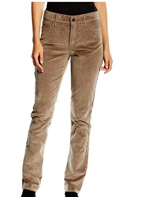 NWT NYDJ Not Your Daughters Jeans STRAIGHT ERTHG Earth Green Brown Petite Pants