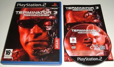 ** TERMINATOR 3 ** RISE OF THE MACHINES ** Sony Playstation 2/PS2 Game ** VGC **