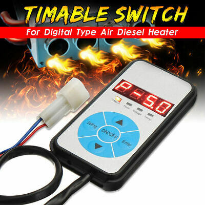 Digital Switch 12/24V 5KW Parking Heater Controller For Car Air Diesel Heater