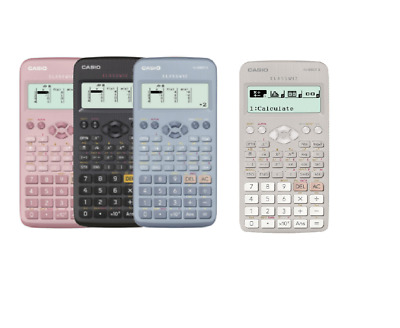 Casio FX-83GTX Scientific Calculator Recommended for GCSEs—White/Black/Blue/Pink
