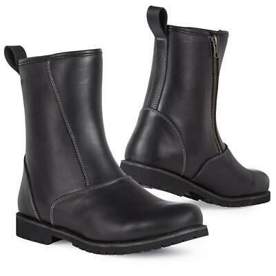 Eleveit Cr Classic Cafe Racer Waterproof Leather Motorcycle Motorbike Boots