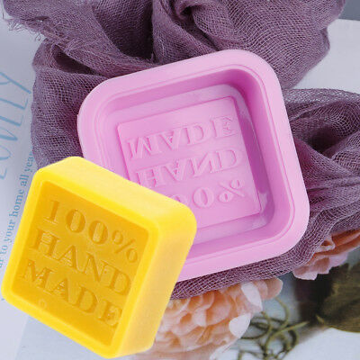 Silicone Mould Mold Ice Cube Tray Chocolate Cake Muffin Soap Cupcake Molds DIYXM