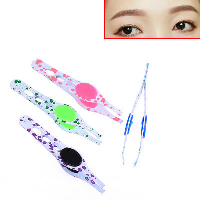 Precise stainless steel hair removal eyebrow tweezers makeup clip beauty care XM