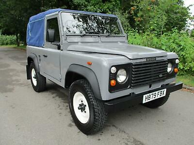 1991 Land Rover Defender 90 200 Tdi Soft Top Pick up Diesel Manual